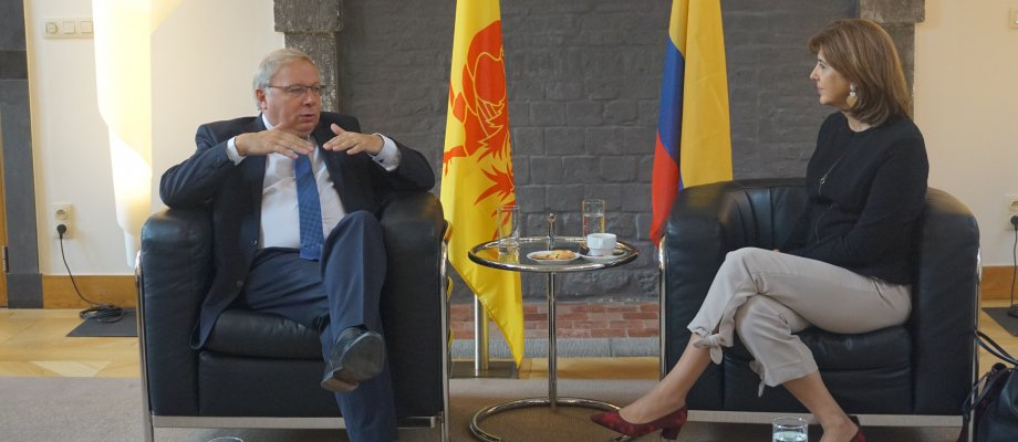 Visit of the Colombian Minister of Foreign Affairs