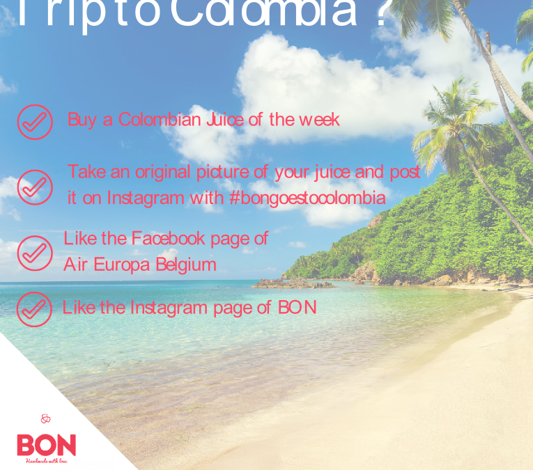 Want to win a trip to Colombia ?